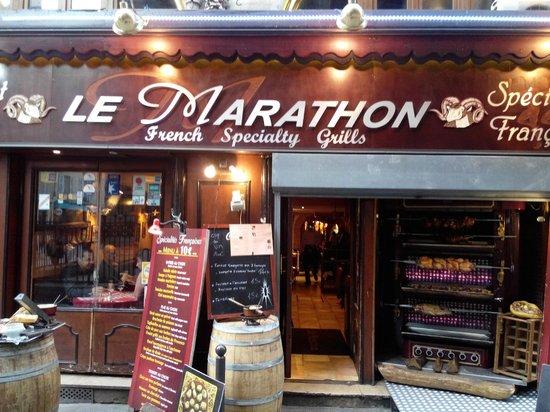 "Le Marathon : ""Марафон"""