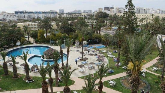 Hotel Marhaba Beach: Vom Balkon