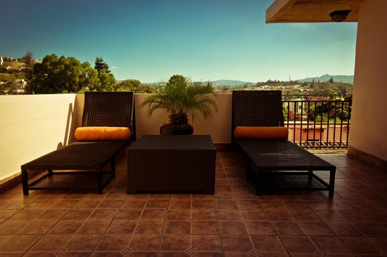 Humuya Inn: Rooftop Terrace