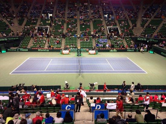Ariake Tennis Forest Park: センターコート