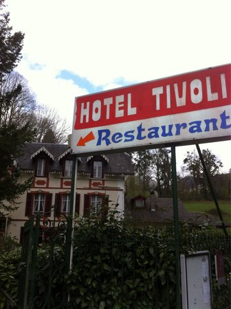 Hotel Restaurant Le Tivoli: Entrée piétons