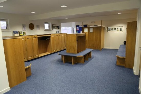 Boat of Garten Golf Club: Locker room