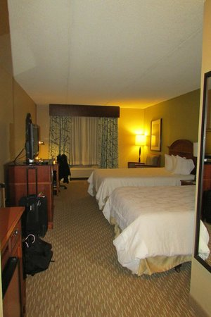 Hilton Garden Inn Albany Airport : big with lots of room