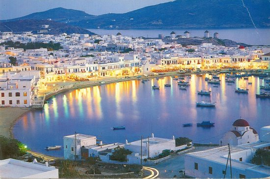 Mykonos Kosmoplaz: A photo of great Mykonos. View is close to Hotel.