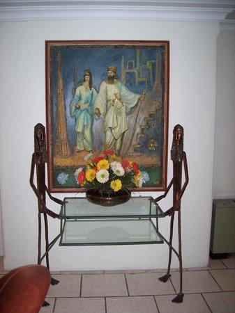 Aryo Barzan Hotel: lobby