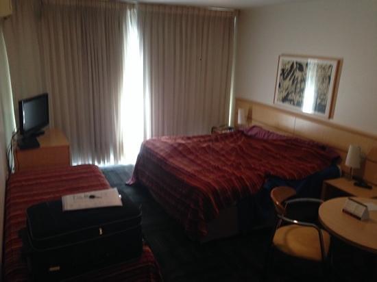 Punta Trouville Hotel : Quarto casal