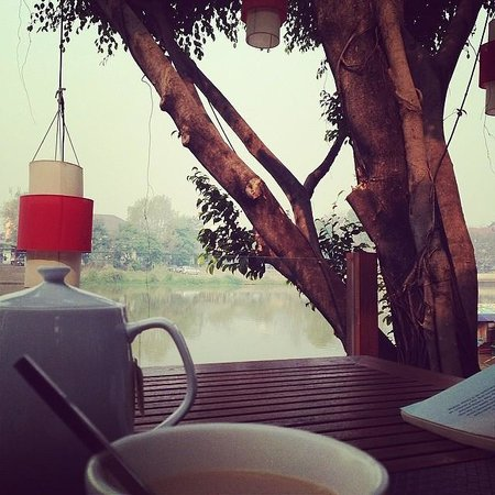 RarinJinda Wellness Spa Resort: Breakfast @ Deck 1