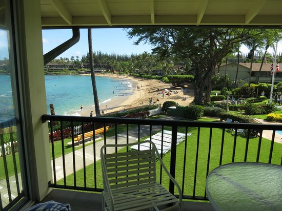 Napili Surf Beach Resort: A room with a view!