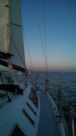 Magic Wind Adventure Sailing: Sunset sail