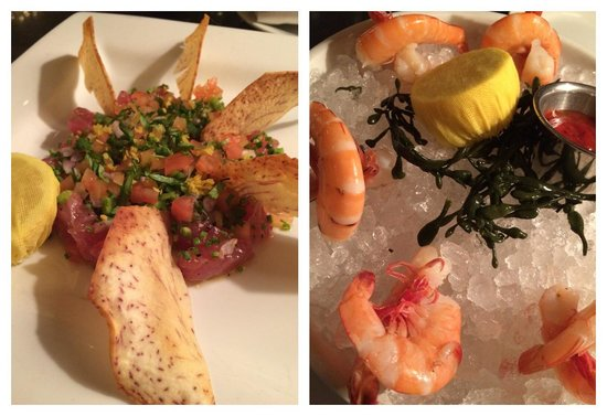 Hank's Seafood Restaurant : Yummy tartar and local shrimp