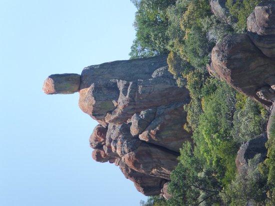 Matobo Hills : 奇妙な石群