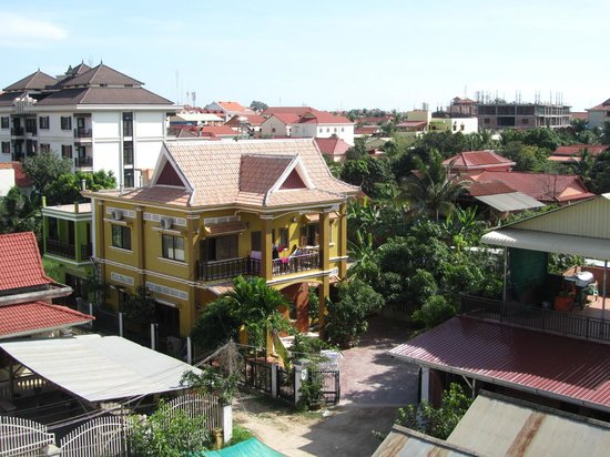 Prum Bayon Hotel : Вид из номера