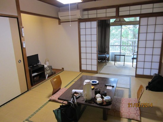 Unzen Iwaki Ryokan: my room