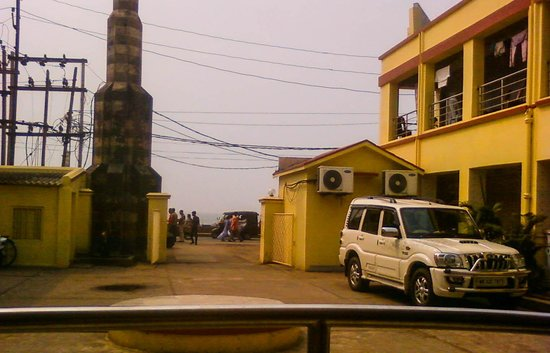 Sagarika Hotel : Sea view from groung floor