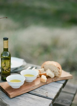 The Door County Olive Oil Company : Door County Olive Oil with bread for dipping!!