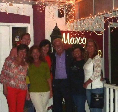 Marco Polo Restaurant LLC: Visiting with Tom Naifeh, the man in charge!