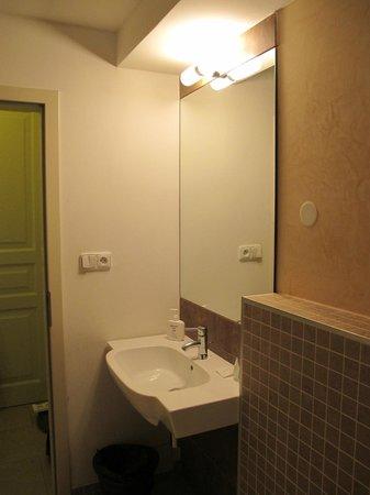 Hotel Trevi: Душ/туалет