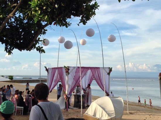 The Westin Resort Nusa Dua: A wedding there