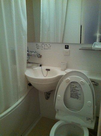 APA Hotel Namba Shinsaibashi: bathroom