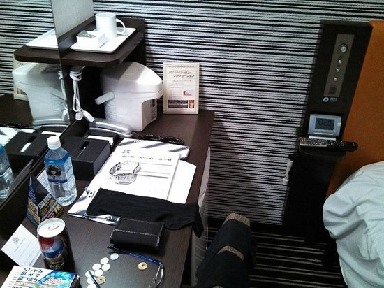 APA Hotel Namba Shinsaibashi: desk