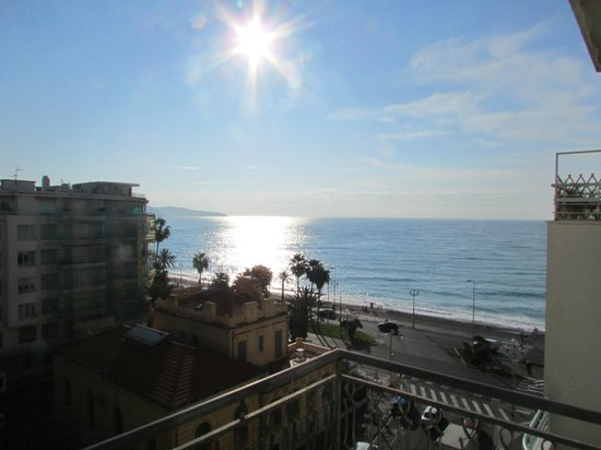 Hotel Magnan: View from Room 62