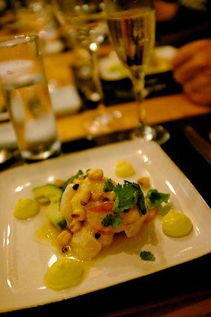 Casa SaltShaker: First course: Ceviche