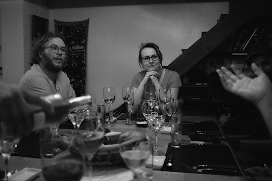 Casa SaltShaker : Great fellow diners