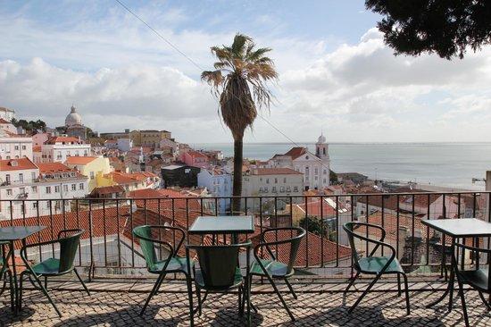 Panorama du miradouro de Santa Luzia