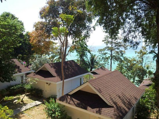 Bay View Resort: вид с балкона