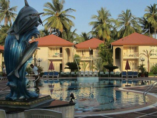 Radhika Beach Resort: le palazzine delle camere