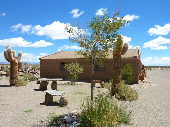 Andes Challenge: Quaint little village with great views of flatlands and cactus