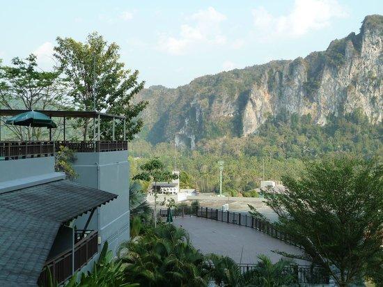 Krabi Cha-Da Resort: Another view from top floor