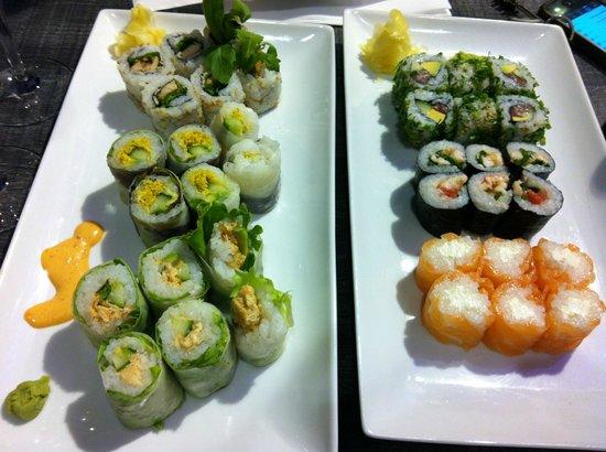 Planet Sushi : Maki slim, redslim, fresh, california...