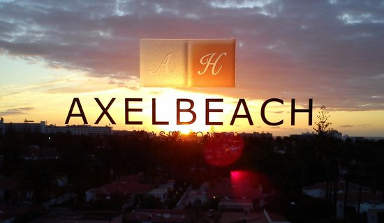 AxelBeach Maspalomas : dawn