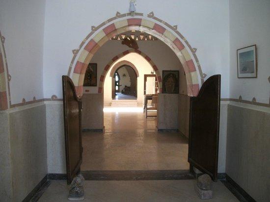 El Badawiya Hotel: Lobby from reception area