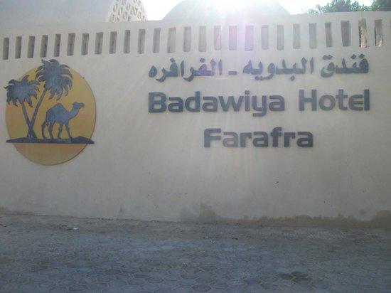 El Badawiya Hotel: Hotel Name