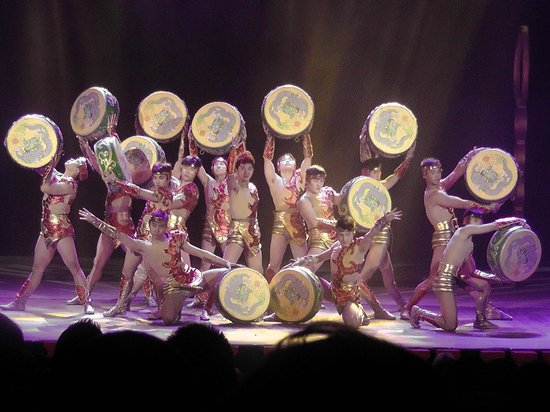 Chaoyang Theater: Drums