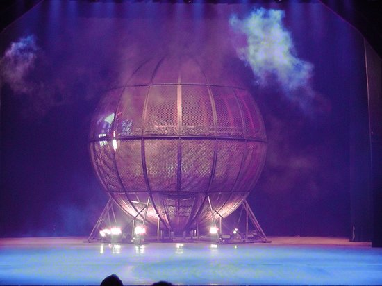 Chaoyang Theater: Cage of Bike