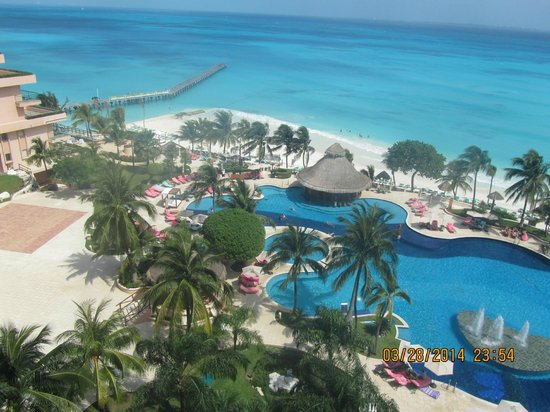 Grand Fiesta Americana Coral Beach Cancun: View