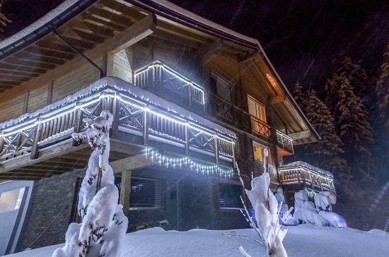Crans Luxury Lodges: vue