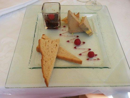 La Vague d'Or : Terrine de foie gras