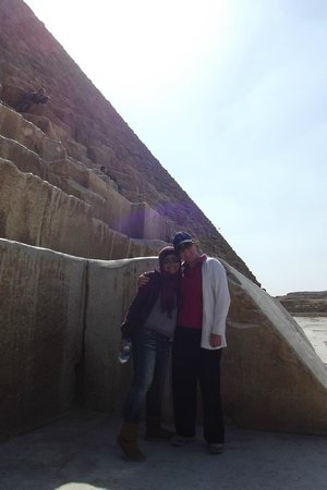 Ramasside Tours - Day Tours: With our guide Eman at the Great Pyramid