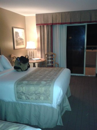 Fitz Casino and Hotel: Double room with balcony