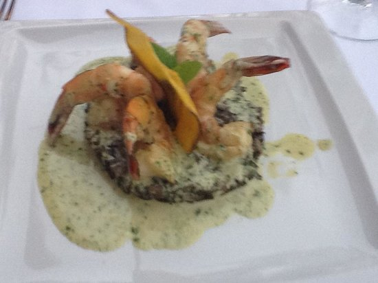 Emiliano Restaurant at Casa Velas Resort: Tequila Shrimp