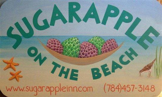 Sugarapple Inn : Cottage Sign