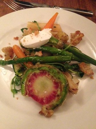 Hawksmoor Guildhall: Awesome Seasonal Veggie Salad