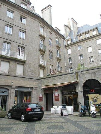 Hotel le Croiseur : Vue extérieure de l'hôtel