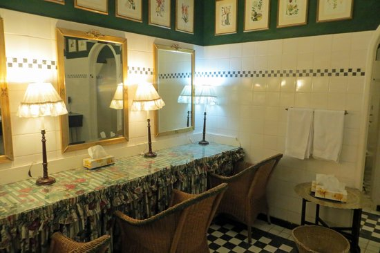 Livingstone Room at Victoria Falls Hotel: The ladies toilet