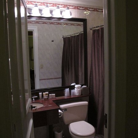 The Lucerne Hotel : Bathroom