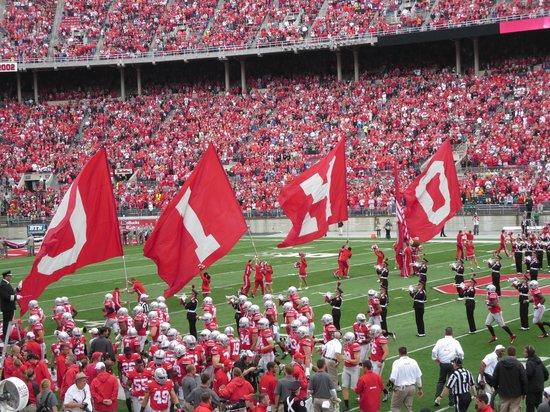 Ohio Stadium: Flags